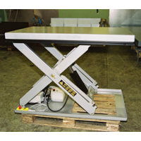 SINGLE SCISSORS - Lifting table, Model SE